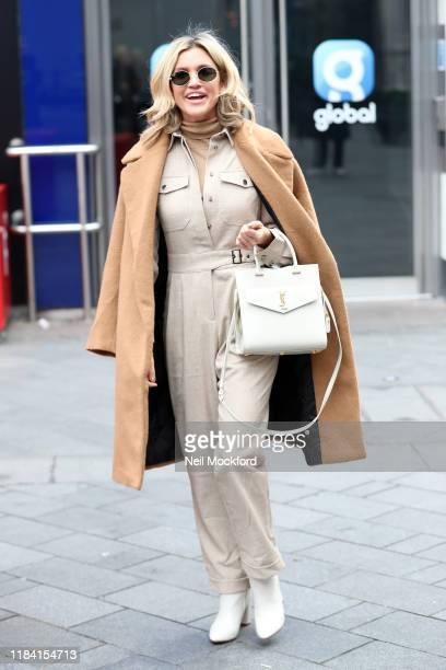 Ashley Roberts seen leaving Heart Radio Studios on October 29 2019 in London England