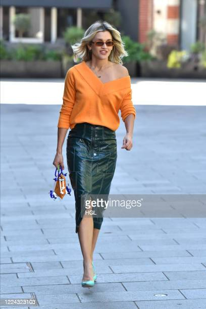 Ashley Roberts seen leaving the Global studios on May 12 2020 in London England