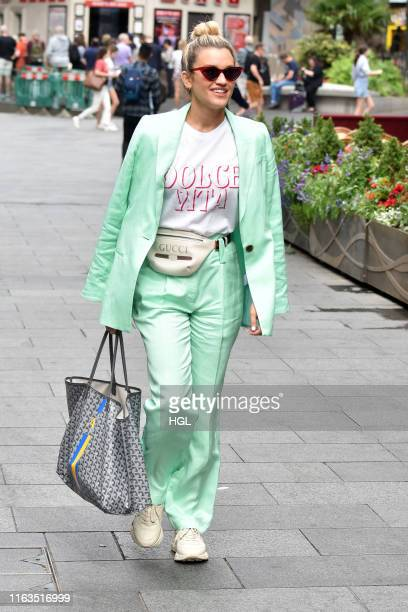 Ashley Roberts seen outside the Global Radio studios on July 22 2019 in London England