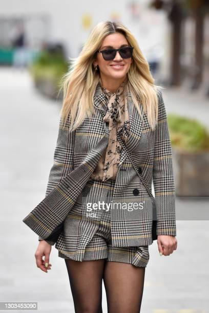 Ashley Roberts sighting on February 22, 2021 in London, England.