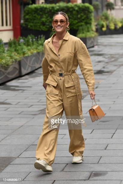 Ashley Roberts sighting on June 10, 2020 in London, England.