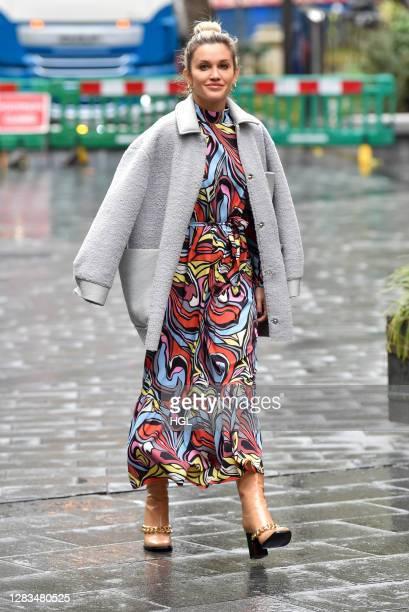 Ashley Roberts sighting on November 02, 2020 in London, England.