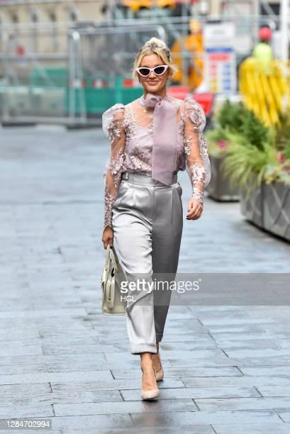 Ashley Roberts sighting on November 09, 2020 in London, England.