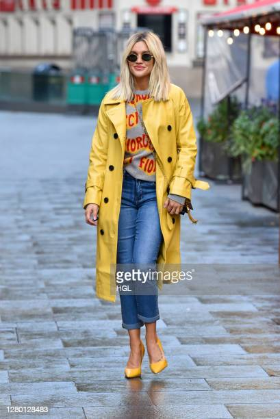 Ashley Roberts sighting on October 14, 2020 in London, England.