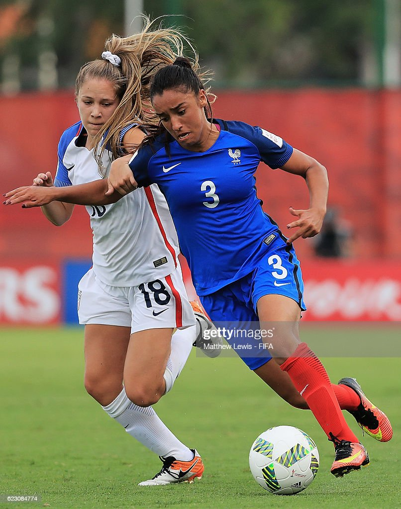 France v USA: Group C - FIFA U-20 Women's World Cup Papua New Guinea 2016