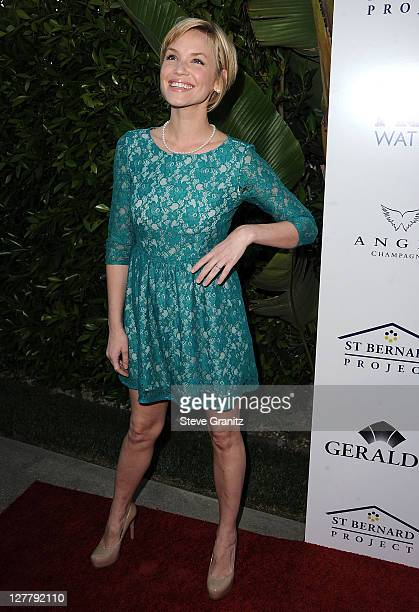 Ashley Scott arrive at the Southern Style St Bernard Project Event With Ambassador Britney Spears in Beverly Hills California