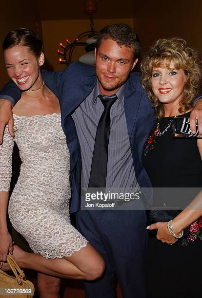 Ashley Scott Clayne Crawford during Playstation 2 Hosts the Movieline Young Hollywood Awards AfterParty in Los Angeles California United States
