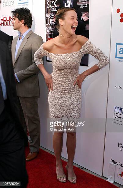 Ashley Scott during AMC Movieline's Hollywood Life Magazine's Young Hollywood Awards Arrivals by Chris Polk at El Rey Theatre in Los Angeles...