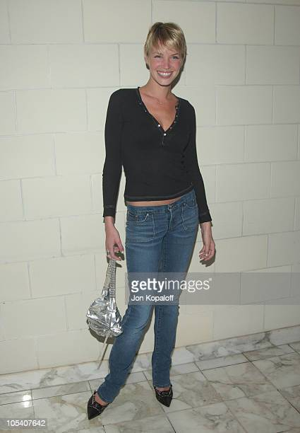 Ashley Scott during Christian Dior Launches New Collection 'D'TRICK' at Argyle Hotel in West Hollywood California United States