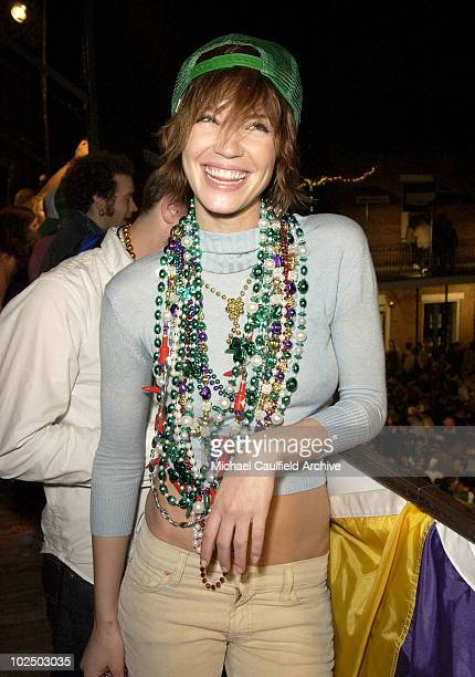 Ashley Scott during Girls Gone Wild's Annual Mardi Gras Party