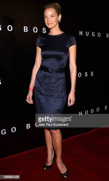 Ashley Scott during Grand Opening of The Newly Renovated Hugo Boss Flagship Store on Rodeo Drive Arrivals at Hugo Boss in Beverly Hills California...