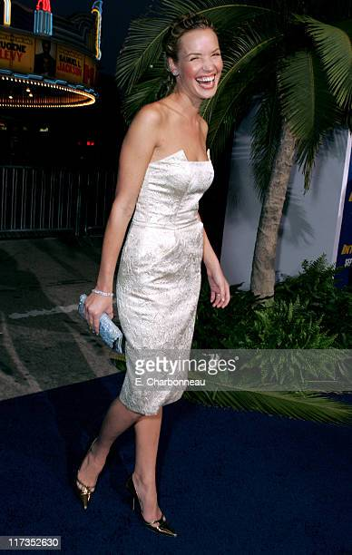 Ashley Scott during MGM Pictures and Columbia Pictures 'Into the Blue' Premiere Red Carpet at Mann Village in Westwood California United States