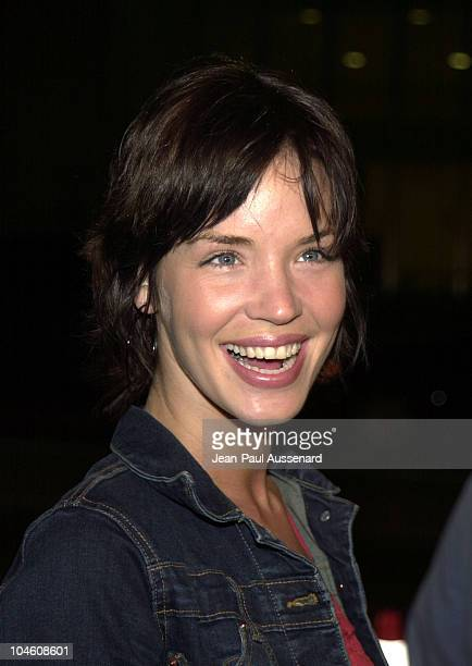Ashley Scott during National Lampoon's 'Van Wilder' Premiere at Cinerama Dome Theater in Hollywood California United States