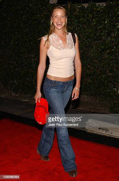 Ashley Scott during Nautica Details 'Next Big Things' Party Arrivals at The Hollywood Roosevelt Hotel in Hollywood California United States