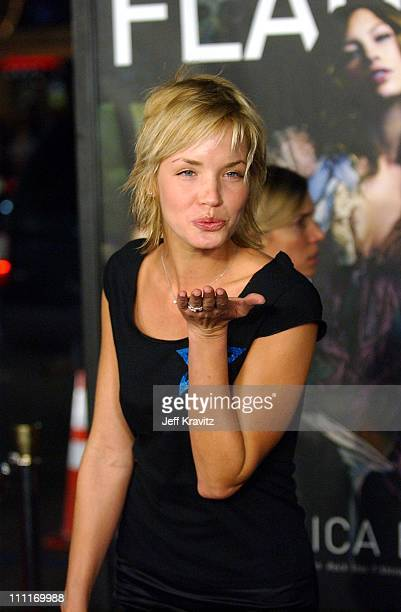 """Ashley Scott during """"Texas Chain Saw Massacre"""" Hollywood Premiere at Mann's Chinese Theater in Hollywood, California, United States."""