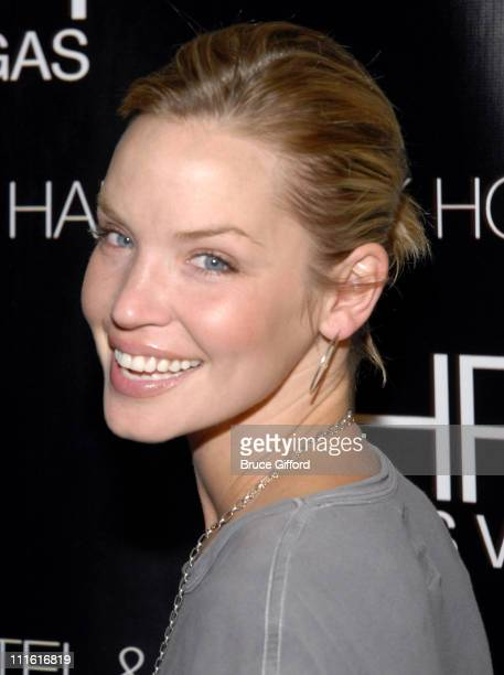 Ashley Scott during The Killers in Concert at Hard Rock Hotel and Casino in Las Vegas June 1 2007 Red Carpet at Hard Rock Hotel and Casino in Las...