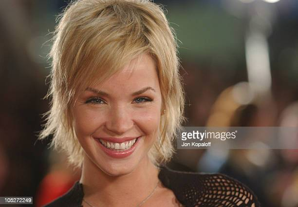 Ashley Scott during The Lord Of The Rings The Return Of The King Los Angeles Premiere at The Mann Village Theatre in Westwood California United States