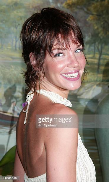 Ashley Scott during The WB Introduces Its 20022003 Schedule at New York Sheraton in New York City New York United States
