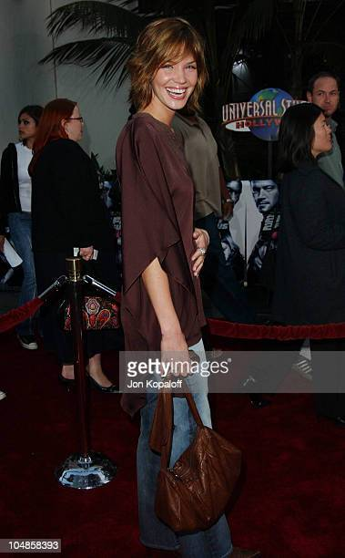 Ashley Scott during The World Premiere of '2 Fast 2 Furious' at Universal Amphitheatre in Universal City California United States