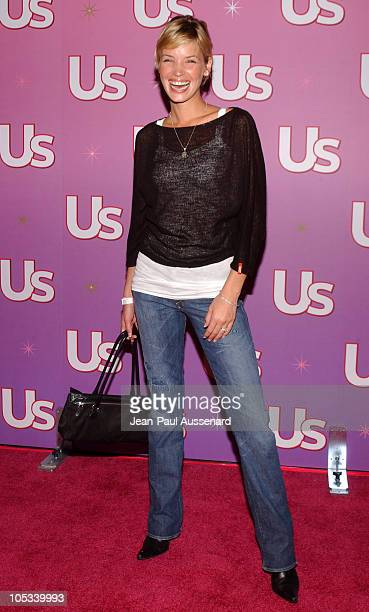 Ashley Scott during Us Weekly Hot Young Hollywood Party Arrivals at Spider Club in Hollywood California United States