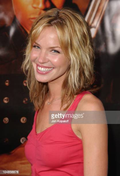 Ashley Scott during World Premiere of SWAT at Mann Village Theater in Westwood California United States