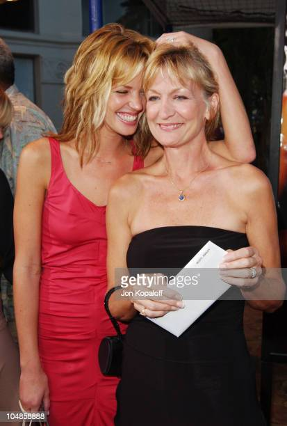 Ashley Scott Mom during World Premiere of SWAT at Mann Village Theater in Westwood California United States