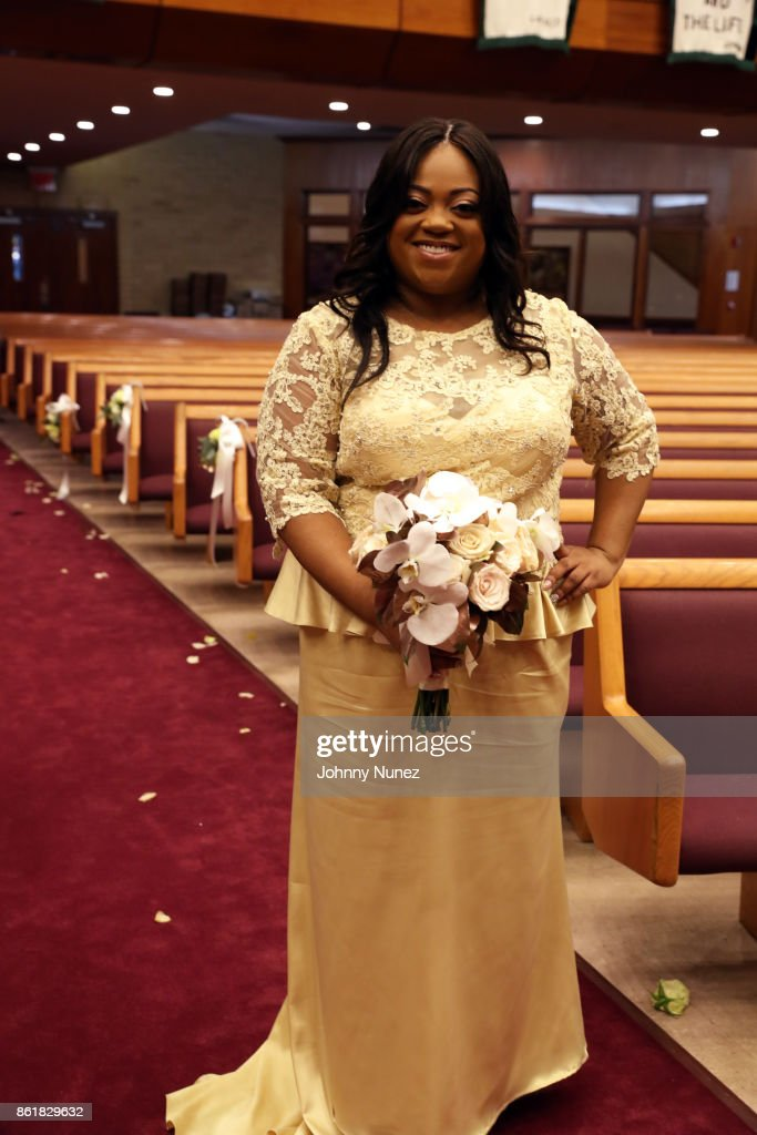 Dominique Sharpton And Marcus Bright Wedding : News Photo