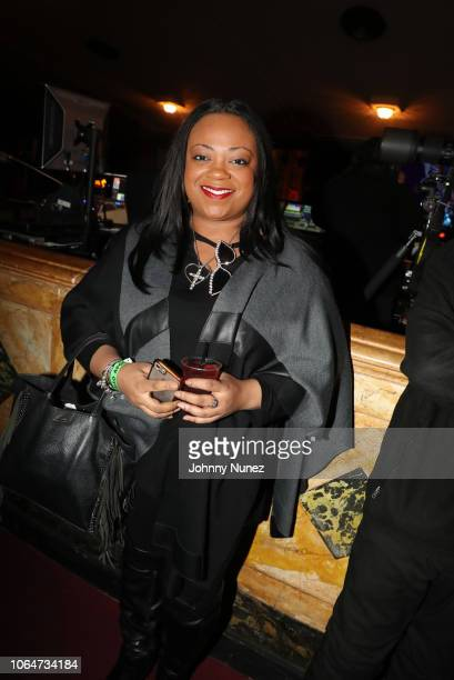 Ashley Sharpton attends The Diplomats In Concert at The Apollo Theater on November 23 2018 in New York City