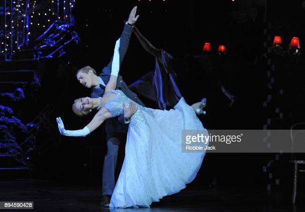 Ashley Shaw as Cinderella and Andrew Monaghan as Harry in Matthew Bourne's Cinderella at Sadler's Wells Theatre on December 15 2017 in London England