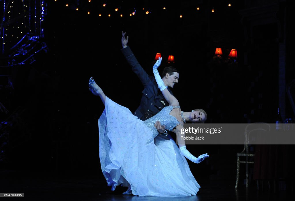 Ashley Shaw as Cinderella and Dominic North as Harry in Matthew Bourne's Cinderella at Sadler's Wells Theatre on December 15, 2017 in London, England.