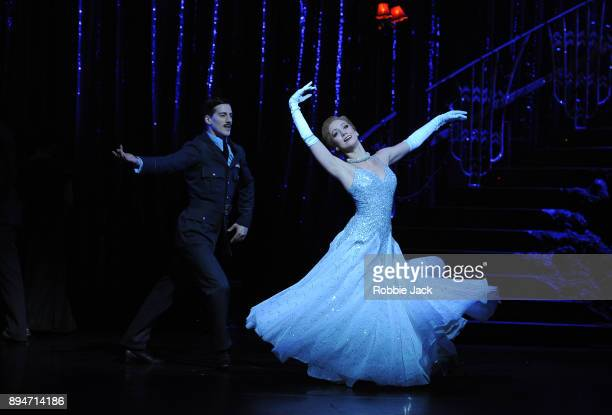 Ashley Shaw as Cinderella and Dominic North as Harry in Matthew Bourne's Cinderella at Sadler's Wells Theatre on December 15 2017 in London England