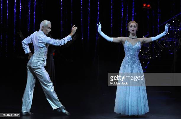 Ashley Shaw as Cinderella and Liam Mower as The Angel in Matthew Bourne's Cinderella at Sadler's Wells Theatre on December 15 2017 in London England