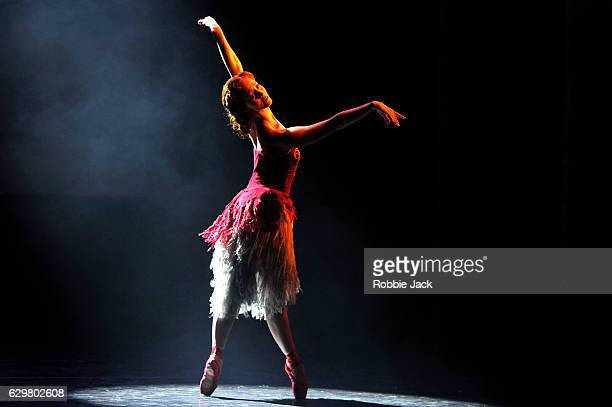 Ashley Shaw as Vicky in Matthew Bourne's The Red Shoes at Sadler's Wells Theatre on December 9 2016 in London England