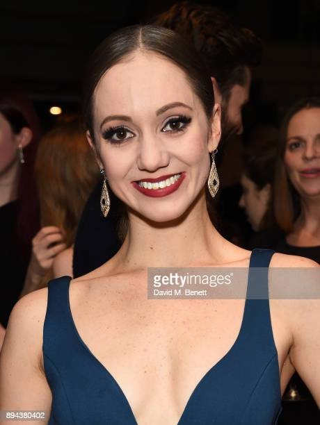 Ashley Shaw attends the evening Gala Performance of 'Matthew Bourne's Cinderella' at Sadler's Wells Theatre on December 17 2017 in London England
