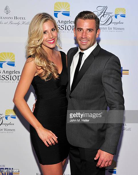 Ashley Slack and actor/singer Jason Wahler attend the Los Angeles Mission's Legacy of Vision Gala at the Four Seasons Hotel Beverly Hills on...