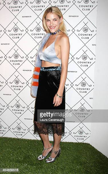 Ashley Smith attends Refinery29 Country Club Launch Event at 82 Mercer on September 4 2014 in New York City