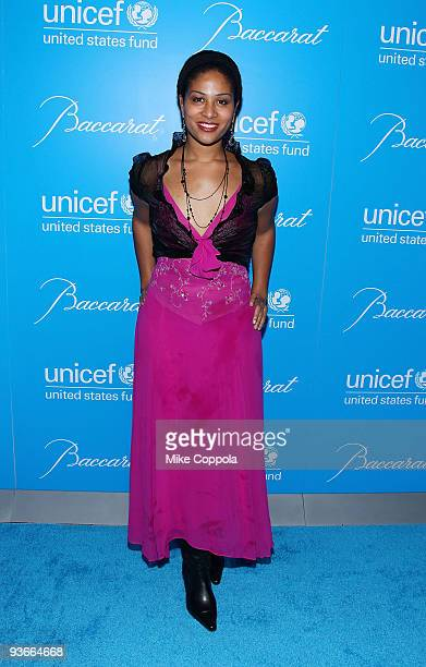 Ashley Sousa attends the 2009 UNICEF Snowflake Ball at Cipriani 42nd Street on December 2, 2009 in New York City.