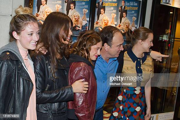 Ashley Stanton, Dawn Dunning of Bambi Killers, Meghan Miller of Bambi Killers, actor James Belushi and actress Tanya Fischer attend the Creative...