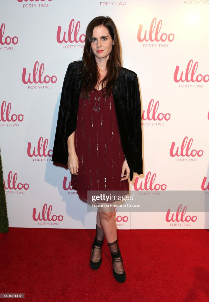 Ashley Sutton attends Ulloo 42 Launch Party on January 11, 2018 in Los Angeles, California.