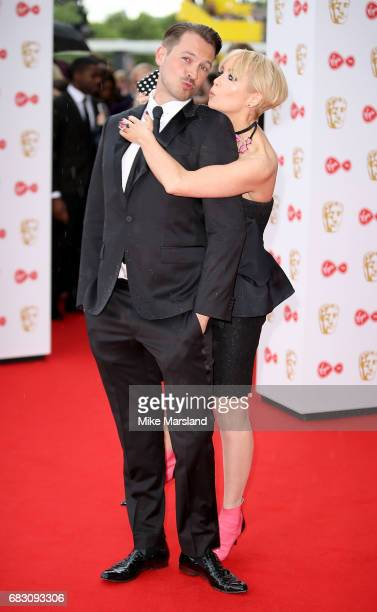 Ashley Taylor Dawson and Lysette Anthony attend the Virgin TV BAFTA Television Awards at The Royal Festival Hall on May 14 2017 in London England