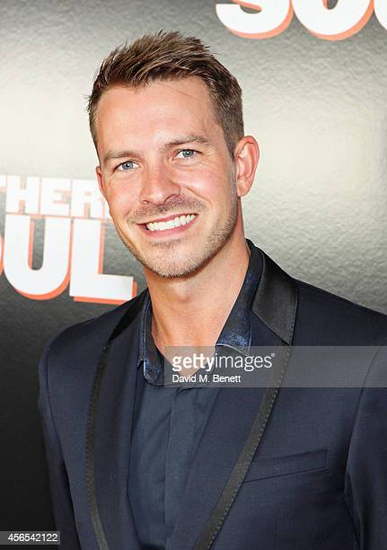 Ashley Taylor Dawson attends a Gala Screening of 'Northern Soul' at the Curzon Soho on October 2 2014 in London England