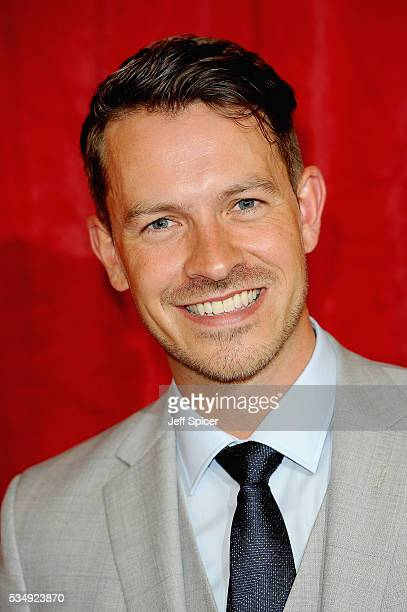 Ashley Taylor Dawson attends the British Soap Awards 2016 at Hackney Empire on May 28 2016 in London England