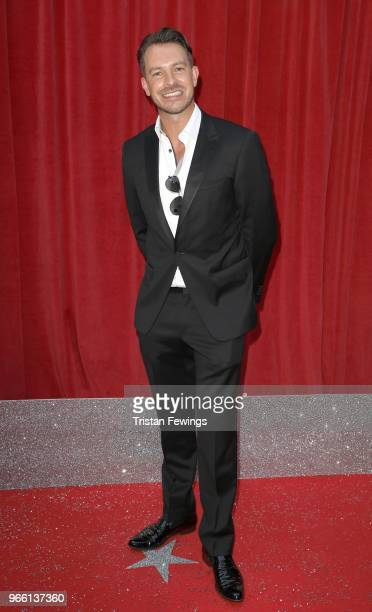 Ashley Taylor Dawson attends the British Soap Awards 2018 at Hackney Empire on June 2 2018 in London England