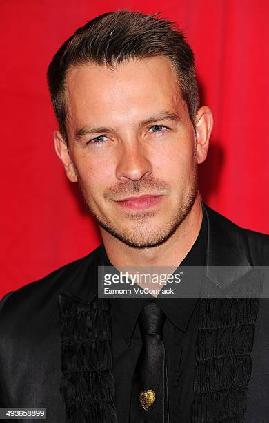 Ashley Taylor Dawson attends the British Soap Awards at Hackney Empire on May 24 2014 in London England