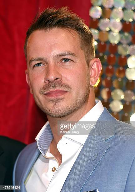 Ashley Taylor Dawson attends the British Soap Awards at Manchester Palace Theatre on May 16 2015 in Manchester England