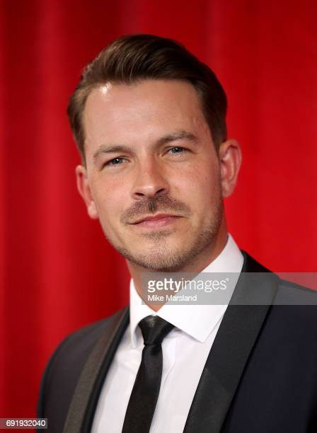 Ashley Taylor Dawson attends The British Soap Awards at The Lowry Theatre on June 3 2017 in Manchester England The British Soap Awards will be aired...