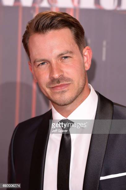 Ashley Taylor Dawson attends The British Soap Awards at The Lowry Theatre on June 3 2017 in Manchester England The Soap Awards will be aired on June...