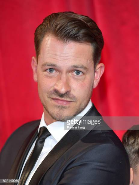 Ashley Taylor Dawson attends the British Soap Awards at The Lowry Theatre on June 3 2017 in Manchester England