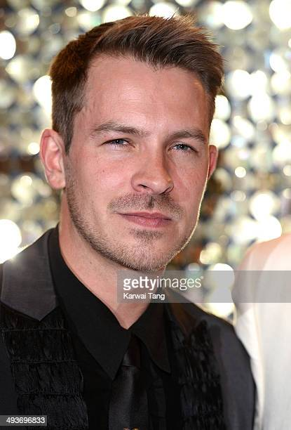 Ashley Taylor Dawson attends the British Soap Awards held at the Hackney Empire on May 24 2014 in London England