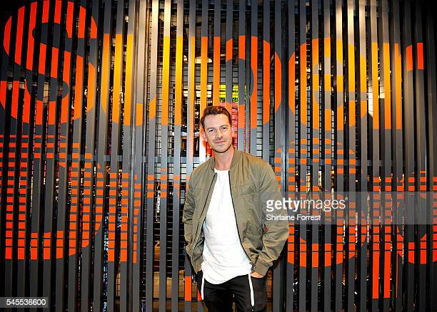Ashley Taylor Dawson attends the exclusive Superdry launch at Arndale Centre #SDArndale on July 8 2016 in Manchester England